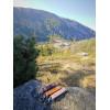 Skórzany brelok na klucze z karabinkiem - góry 3