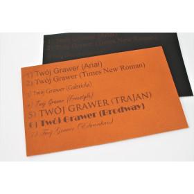Personalizacja produktów Black Tree – grawer