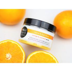 MELLI care Orange & Coconut Scrub 330g