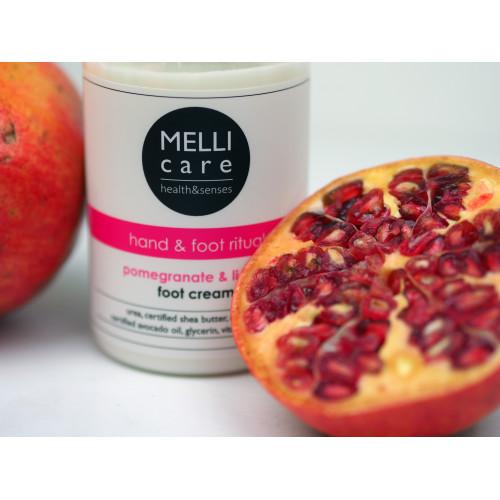 MELLI care Pomegranate & Lichee Foot Cream 300 ml