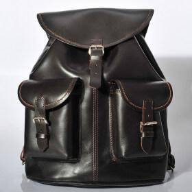 Plecak skórzany juchtowy premium, ręcznie robiony - FS Bike