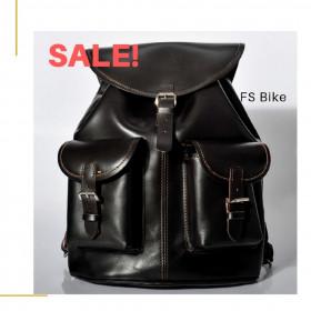WYPRZEDAŻ! Plecak skórzany juchtowy premium, ręcznie robiony - FS Bike