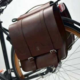 Sakwy rowerowe Classic Ride – brązowe