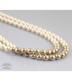 c-164   Gold&Pearls