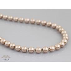 c-97  Kawowy sznur pereł