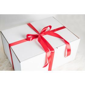 Pakowanie na prezent 3 (lub więcej) produktów CZERWONA WSTĄŻKA
