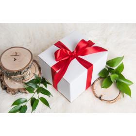 Pakowanie na prezent jednego produktu - CZERWONE