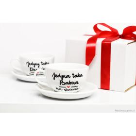 Porcelanowa Filiżanka  250 ml -  Jedyna taka babcia na świecie