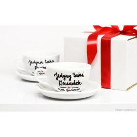 Porcelanowa Filiżanka  250 ml -  Jedyny taki dziadek na świecie