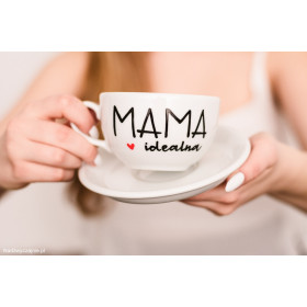 Porcelanowa Filiżanka  250 ml -  Mama idealna