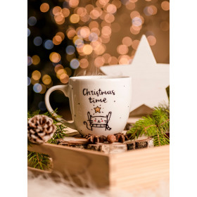 Porcelanowy Kubek  300 ml -  Christmas time