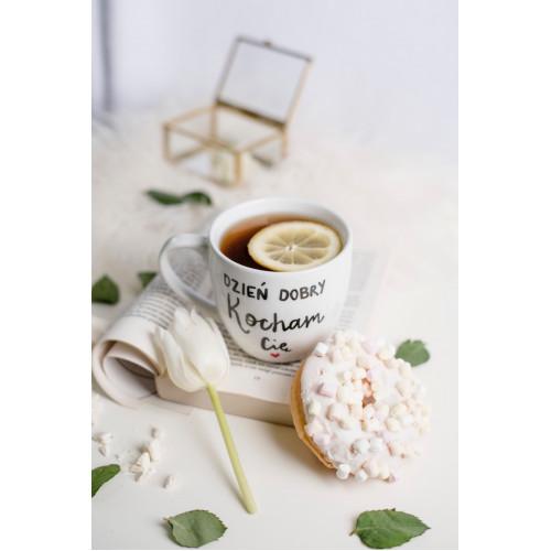 Porcelanowy Kubek 300 ml - Dzień dobry kocham Cię