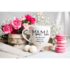 Porcelanowy Kubek  300 ml -  Mama opiekunka naszej rodziny