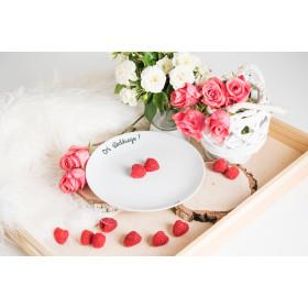 Porcelanowy Talerz -  Coś słodkiego