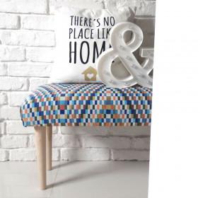 Ale ławeczka BARCELONA ławka siedzisko do przedpokoju wzorzyste tapicerowane