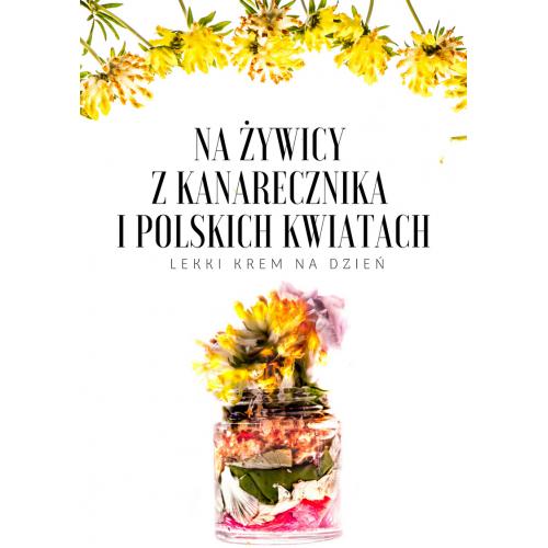 Krem na Żywicy z Anarecznika i polskich kwiatów - Produkt Naturalny