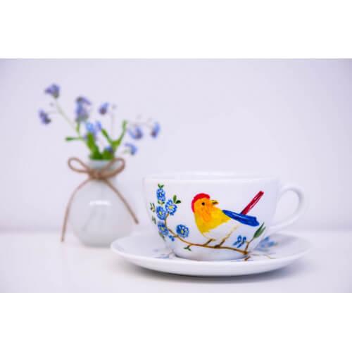 Duża filiżanka rajski ptak