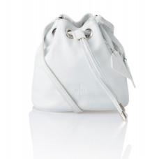 Skórzany biały woreczek Jovite