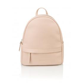 Skórzany różowy plecak Oliv