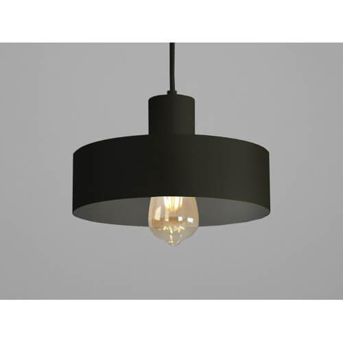 Lampa wisząca FAY 1 M – czarny