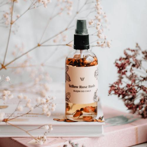 Yellow Rose Buds - Olejek do ciała z pąkami róż