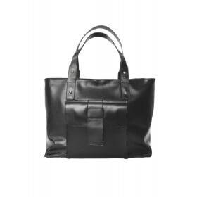 Skórzana torba XXL czarna