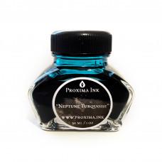 Atrament do piór wiecznych i kaligrafii - Neptune Turquoise [niebieski] - 30 ml