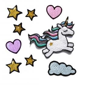 Zestaw naszywek Unicorn