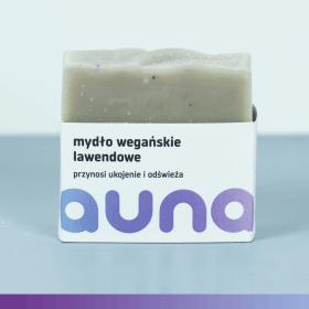 wegańskie mydło lawendowe