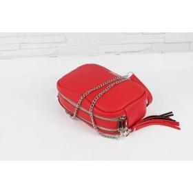 Torebka skórzana - Fabulous II czerwona L/D
